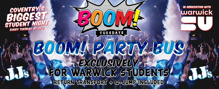 Visit Uk - BOOM Tuesdays at JJ'S