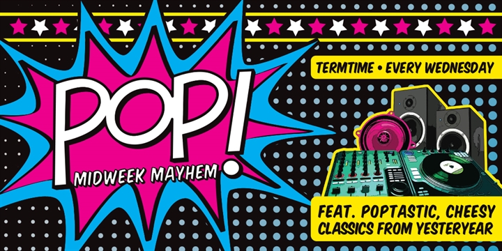 POP! Week 7 ***SOLD OUT***