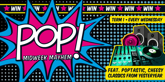 POP! Week 9 ***SOLD OUT***