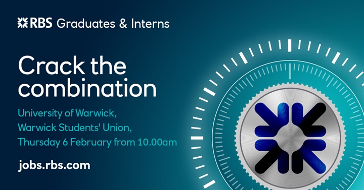 RBS careers event - Crack the Combination