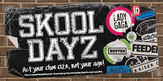 SKOOL DAYZ***SOLD OUT***