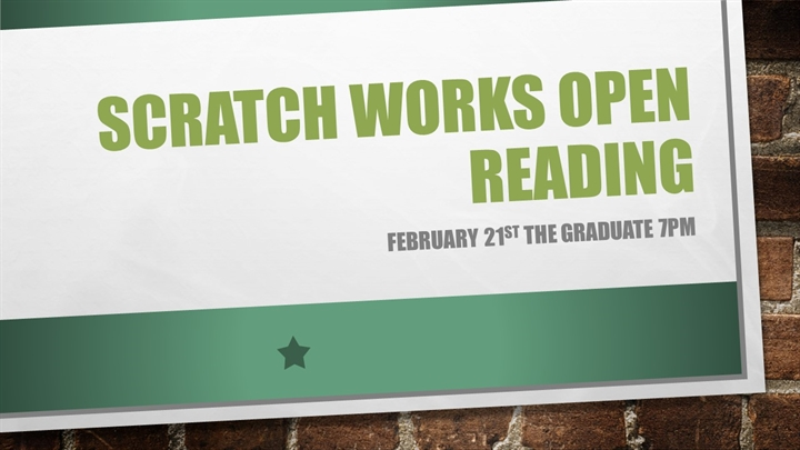 Scratch Works Open Reading